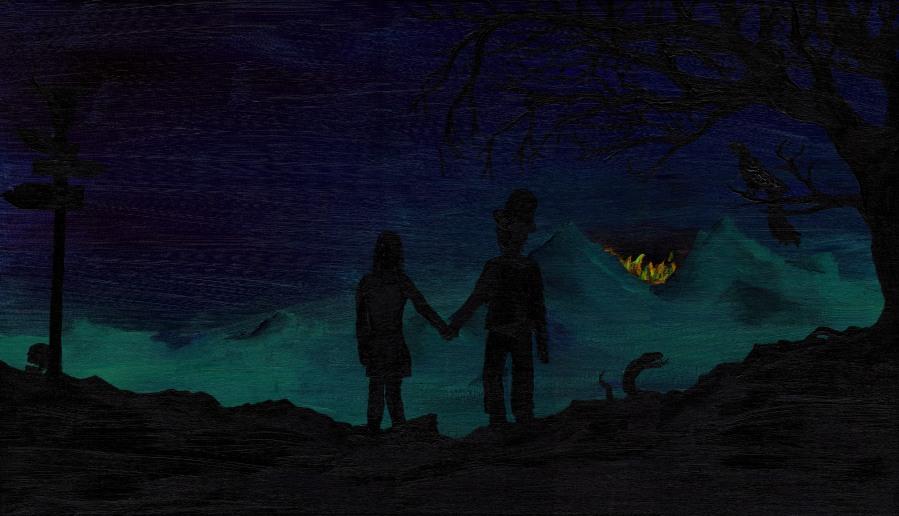 Oblivion Titelbild Nacht